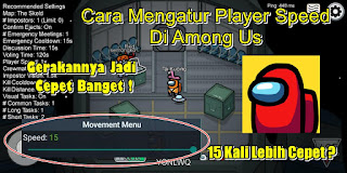 Cara Mengatur Player Speed Di Game Among Us