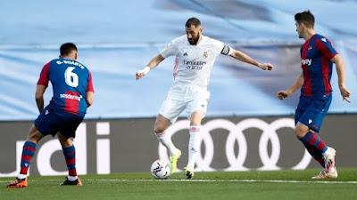 ملخص واهداف مباراة ريال مدريد وليفانتي (1-2) الدوري الاسباني