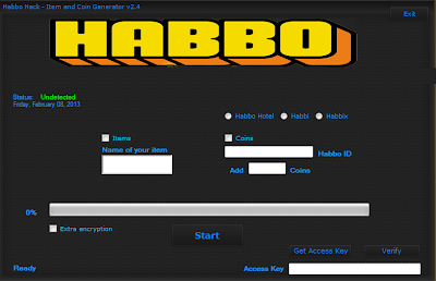 HABBO TOOL HACK AND CHEAT ENGINE 2013