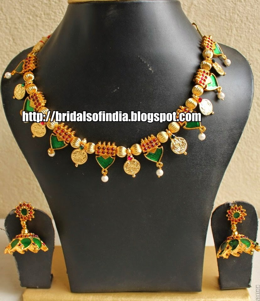 Fashion world: Kerala traditional jewellery - Palakka mala ...
