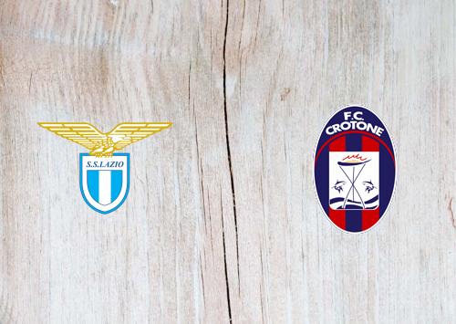 Lazio vs Crotone -Highlights 12 March 2021