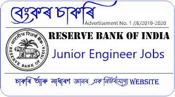 RBI Junior Engineeer Recruitment 2021