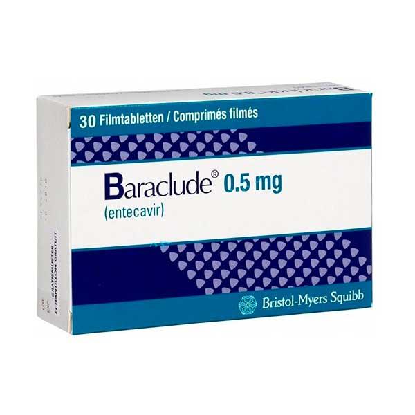 سعر ودواعي استعمال أقراص باركلود Baraclude للكبد