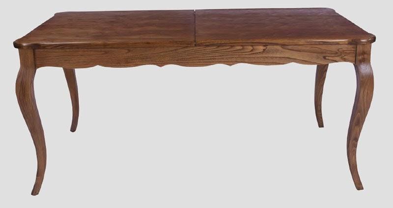 mesa roble rectangular, mesa salon comedor