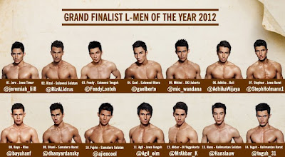 L-Men of the Year 2012 di Trans 7