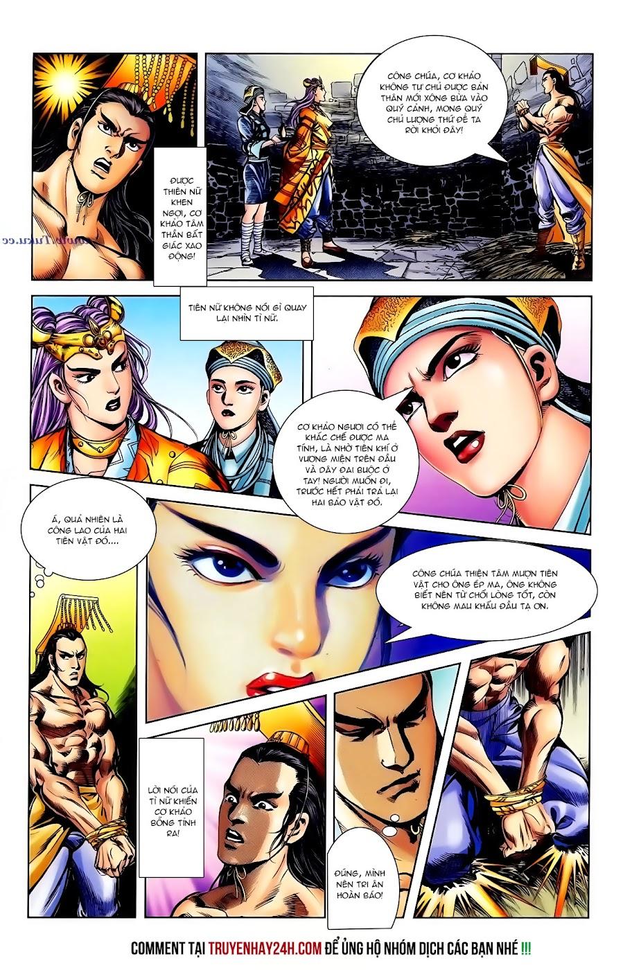 Cơ Phát Khai Chu Bản chapter 104 trang 9