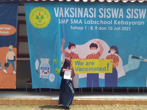 Vaksin Aman, Hati Nyaman
