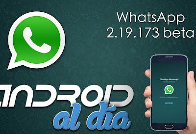 WhatsApp 2.19.173 beta