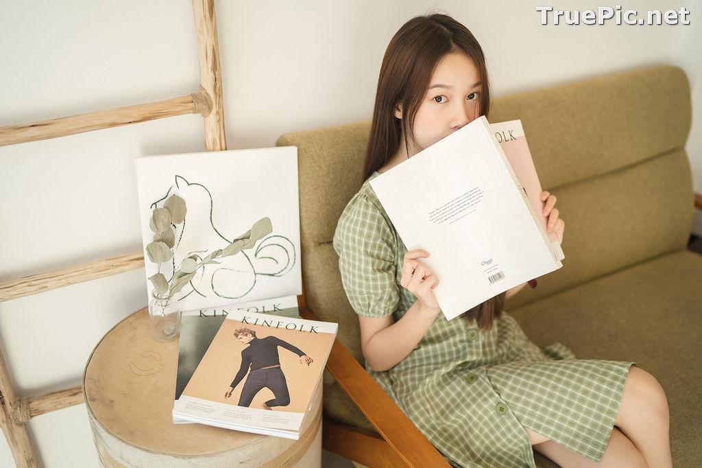 Image Thailand Cute Model - Pimpisa Kitiwinit - Milk Tea Girl - TruePic.net - Picture-4