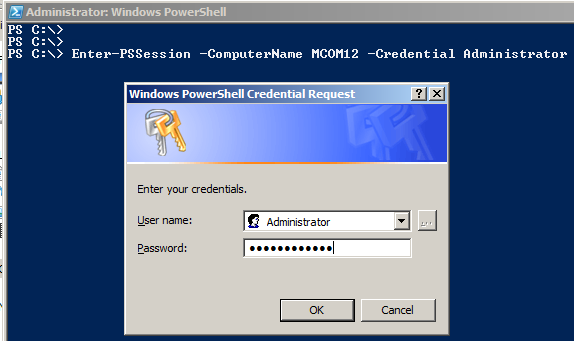 Execute Remote PowerShell Commands