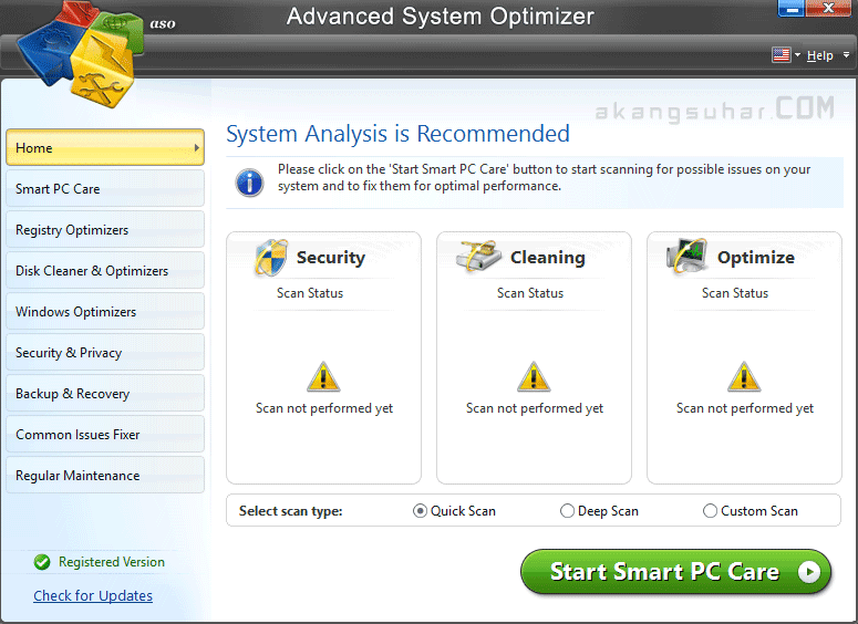Free Download Advanced System Optimizer Full Version