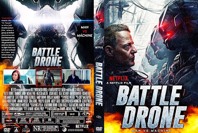 Battle Drones DVD Cover