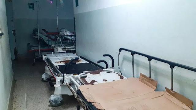 Salas de emergencias operan a duras penas (I)