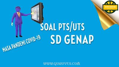 yang dapat anda download secara gratis berserta jawabannya untuk Soal UTS Download Soal PTS PPKn Kelas 1 SD Semester 2 Kurikulum 2013