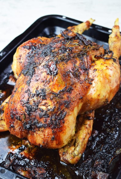 BEST EVER LEMON AND HERB ROAST CHICKEN