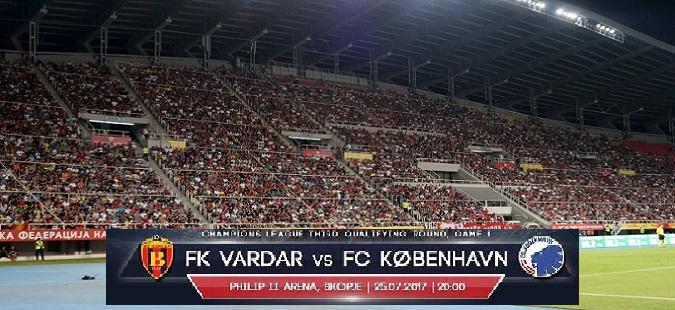 Vardar - Copenhagen declared a high risk match