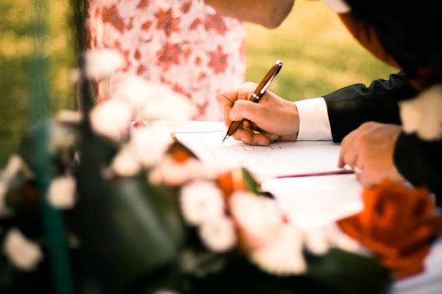 コロンビアの婚姻届けのオリジナル(原本)コピー