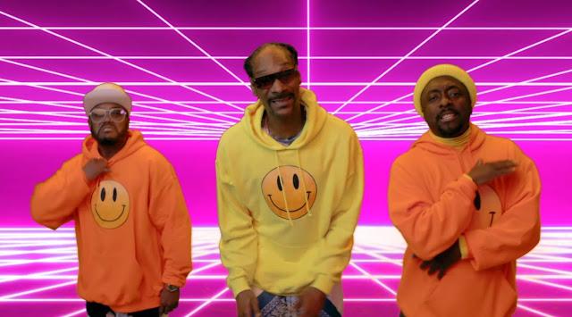 """Com a participação de Snoop Dogg, Black Eyed Peas lança o gostoso clipe """"Be Nice"""""""