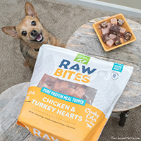 Only Natural Pet Raw Bites Dog food meal topper review