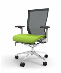 Green and Gray Office Chair