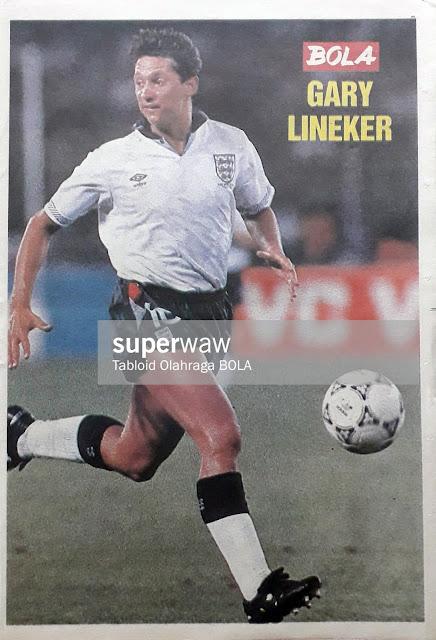 GARY LINEKER ENGLAND 1990