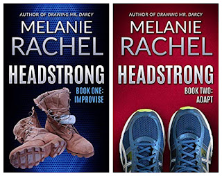 Book covers - Headstrong Books One and Two by Melanie Rachel