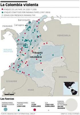 Los paramilitares como actor geopolítico en Colombia