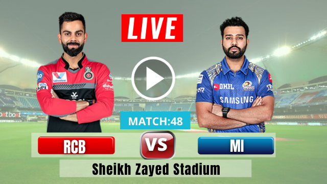 MI vs RCB, MATCH 48, IPL 2020