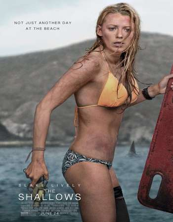 The Shallows 2016 English 350MB BRRip 720p ESubs HEVC