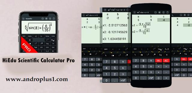 HiEdu Scientific Calculator Pro v1.0.2