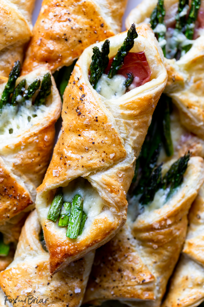 Asparagus Puff Pastry Bundles Recipes