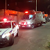 Jovem é socorrido após ser baleado em um sítio na Baixada Grande