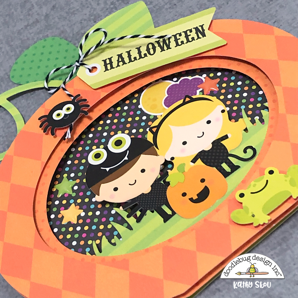 Doodlebug ~ CANDY CARNIVAL ~ Mini Icons ~ Halloween Stickers