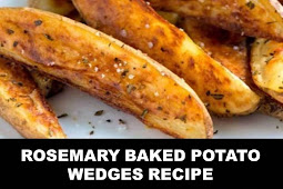 #The #World's #most #delicious #Rosemary #Baked #Potato #Wedges #Recipe