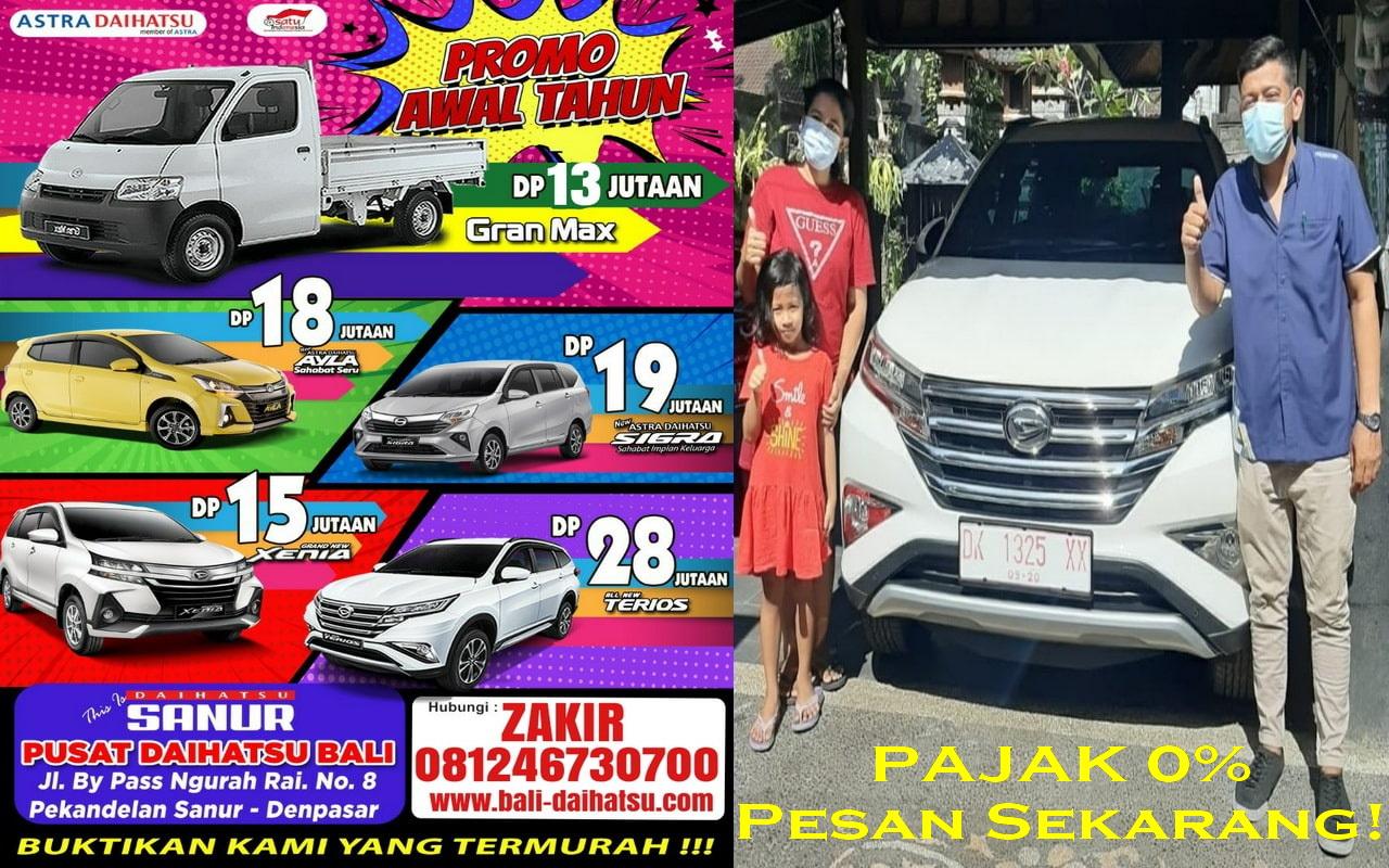 Daihatsu Bali - Harga Daihatsu Bali - Promo Daihatsu Bali