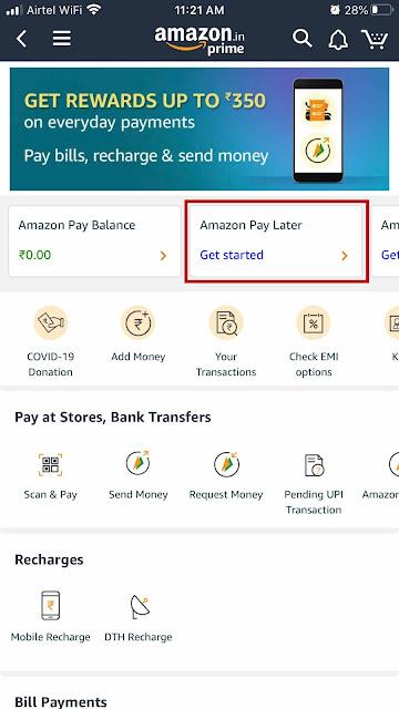 Amazon Get Start