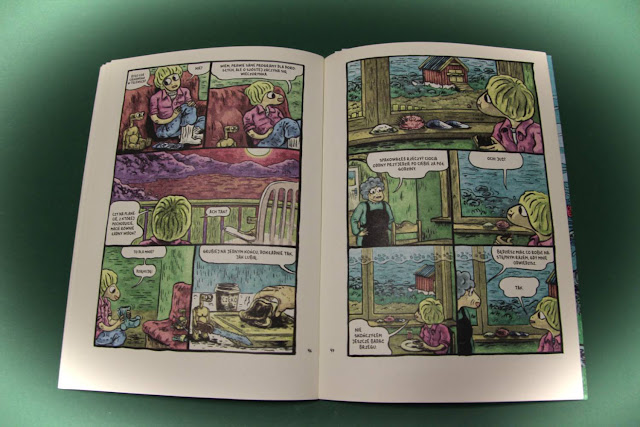 """Pustelnik"" Martin Ernstsen, Centrala, komiks"