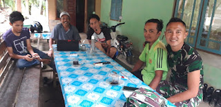 Jalinan Kebersamaan TNI dan Masyarakat dalam TMMD Kodim 0311/Pessel