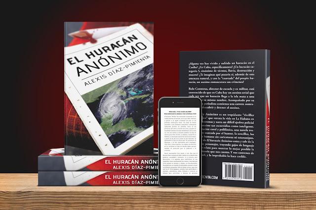 El huracán Anónimo, la nueva novela de Alexis Díaz-Pimienta