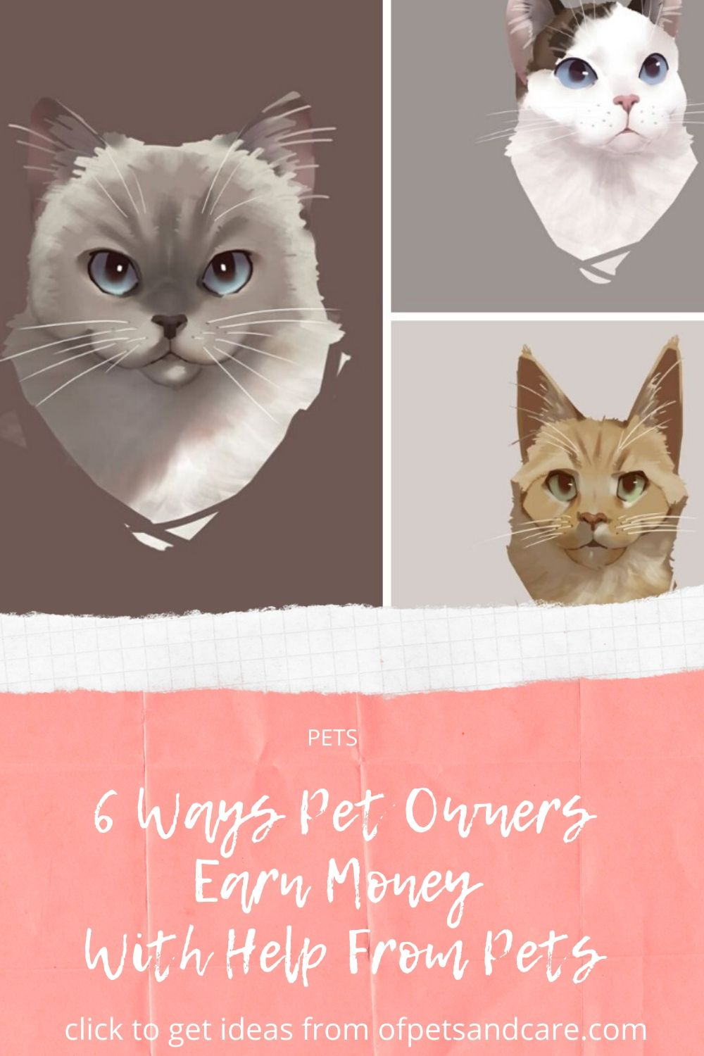 6 Ways Pet Owners Earn Money With Help From Pets
