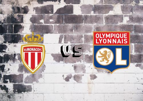 AS Monaco vs Olympique Lyonnais  Resumen