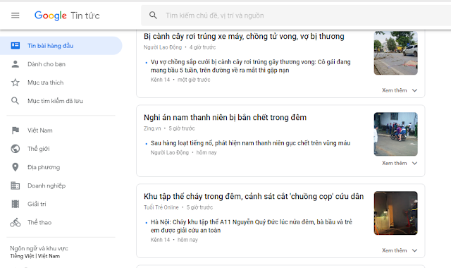 Google tin tức