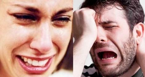 perbedaan menangisnya wanita dengan pria