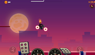 Jogo grátis de moto Pumpkin Rider online