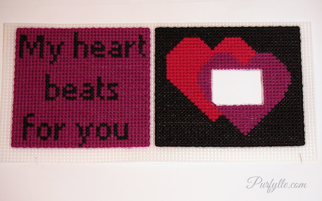 Valentines day cross stitch