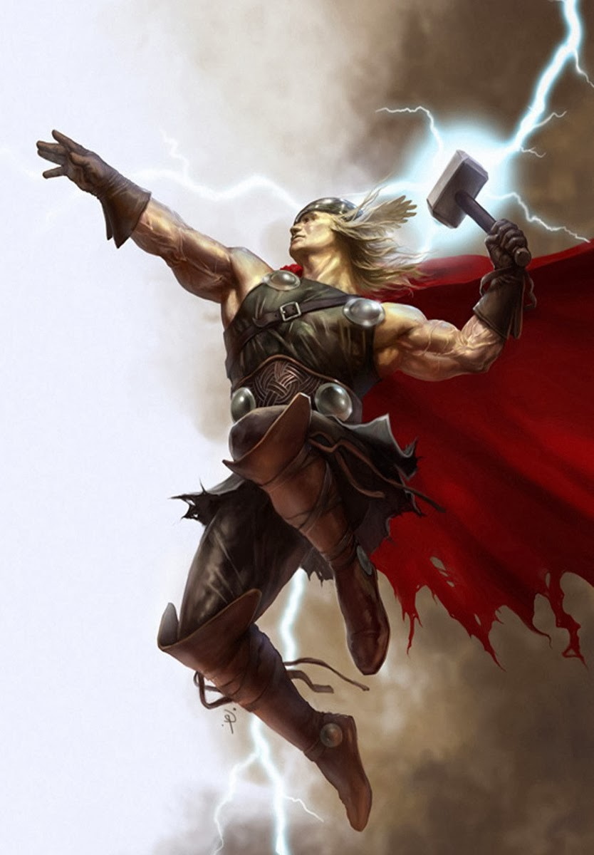 The electric gorilla thor ages of thunder by matt - Thor art wallpaper ...