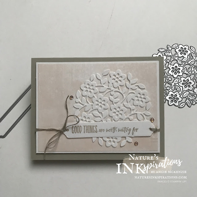 By Angie McKenzie for Technique Tuesday Blog Hop; Click READ or VISIT to go to my blog for details! Featuring the Vine Design Bundle and the Enjoy the Moment Cling Stamp Set from the January-June 2021 Mini Catalog by Stampin' Up!; #encouragementcards #stamping #techniquetuesday #techniquetuesdaybloghop #vinedesignbundle #vinedesignstampset #floweringvinedies #enjoythemomentstampset #labelmefancypunch #januaryjune2021minicatalog #naturesinkspirations #makingotherssmileonecreationatatime #diecutting #gelpressbackground #cardtechniques #stampinup #handmadecards #ministampincutandembossmachine