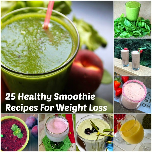 Healthy Smoothie Recipes For Weight Loss | Becky Cooks Lightly #smoothierecipes