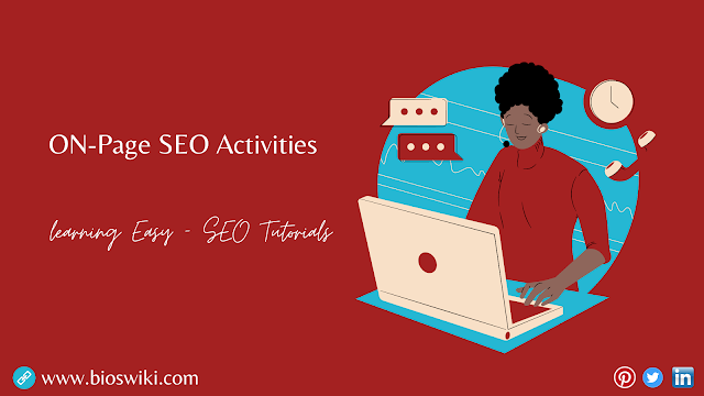 On-Page SEO Activities | Bioswiki