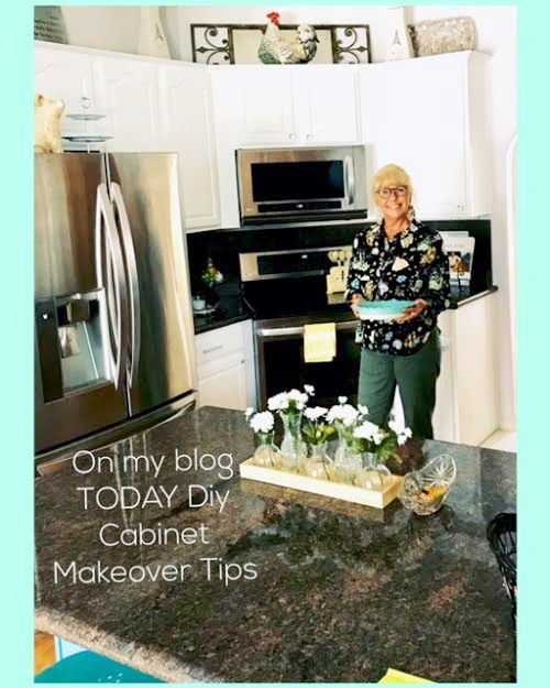DIY Kitchen Cabinet Makeover